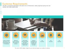 Customer Requirements Build N219 Ppt Powerpoint Presentation File Ideas
