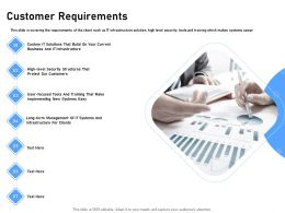 Customer Requirements New Systems Easy Ppt Powerpoint Presentation Infographic Template