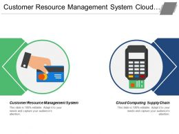 Customer Resource Management System Cloud Computing Supply Chain Cpb
