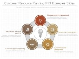 Customer Resource Planning Ppt Examples Slides
