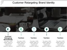 Customer Retargeting Brand Identity Ppt Powerpoint Presentation Slides Template Cpb