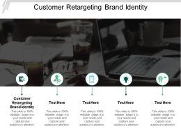 Customer Retargeting Brand Identity Ppt Powerpoint Presentation Slides Template Cpb
