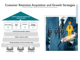 Customer Retention Acquisition And Growth Strategies