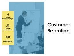 Customer Retention Agenda Ppt Powerpoint Presentation Icon Infographic Template