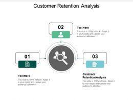 Customer Retention Analysis Ppt Powerpoint Presentation File Example Topics Cpb