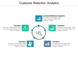 Customer Retention Analytics Ppt Powerpoint Presentation Infographic Template Visuals Cpb