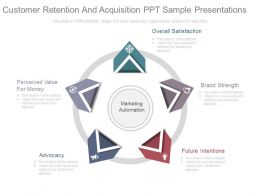 Customer Retention And Acquisition Ppt Sample Presentations