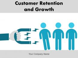 Customer Retention And Growth Strategies Acquisition Achieve Improvement Marketing Arrows Business