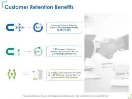 Customer Retention Benefits Same Effect Ppt Powerpoint Presentation Summary Graphics Tutorials