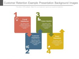 Customer Retention Example Presentation Background Images