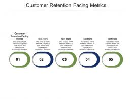 Customer Retention Facing Metrics Ppt PowerPoint Presentation Infographics Cpb