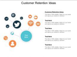 Customer Retention Ideas Ppt Powerpoint Presentation Icon Cpb