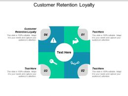 Customer Retention Loyalty Ppt Powerpoint Presentation Gallery Background Designs Cpb