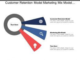 Customer Retention Model Marketing Mix Model Employee Work Schedules