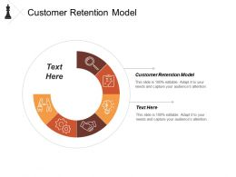 Customer Retention Model Ppt Powerpoint Presentation Model Slides Cpb