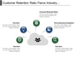 Customer Retention Ratio Fierce Industry Competition Distinctive Marketing