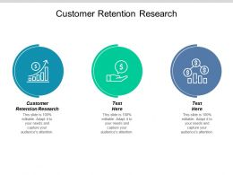 Customer Retention Research Ppt Powerpoint Presentation Icon Inspiration Cpb