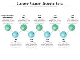 Customer Retention Strategies Banks Ppt Powerpoint Presentation Layouts Format Ideas Cpb