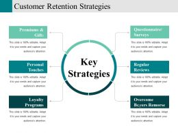 Customer Retention Strategies Powerpoint Slide Presentation Guidelines