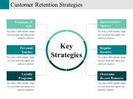 Customer Retention Strategies Powerpoint Slide Presentation Guidelines
