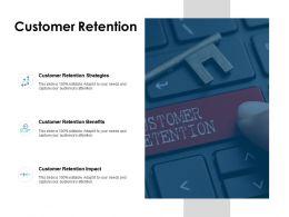 Customer Retention Strategies Ppt Powerpoint Presentation Icon Information