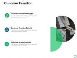 Customer Retention Strategies Ppt Powerpoint Presentation Icon Styles