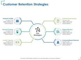 Customer Retention Strategies Questionnaire M347 Ppt Powerpoint Presentation Ideas Grid
