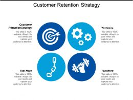 Customer Retention Strategy Ppt Powerpoint Presentation Gallery Portfolio Cpb