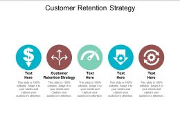 Customer Retention Strategy Ppt Powerpoint Presentation Show Graphics Example Cpb