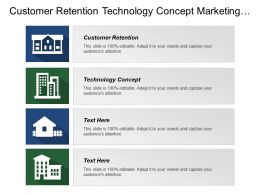 Customer Retention Technology Concept Marketing Strategy Approach Target