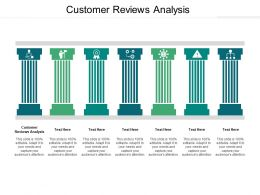 Customer Reviews Analysis Ppt Powerpoint Presentation Ideas Show Cpb