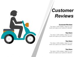 Customer Reviews Ppt Powerpoint Presentation Infographic Template Outline Cpb