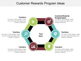 Customer Rewards Program Ideas Ppt Powerpoint Presentation Inspiration Backgrounds Cpb