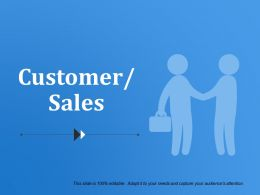 Customer Sales Powerpoint Templates