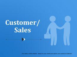 Customer Sales Powerpoint Templates