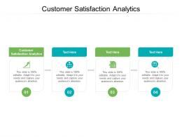 Customer Satisfaction Analytics Ppt Powerpoint Presentation Show Example File Cpb