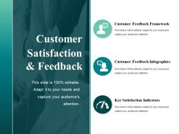 Customer Satisfaction And Feedback Powerpoint Slide Show
