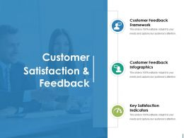 Customer Satisfaction And Feedback Ppt Diagrams