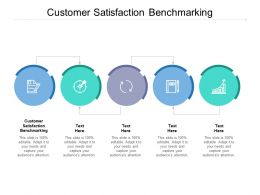 Customer Satisfaction Benchmarking Ppt Powerpoint Presentation Infographics Guidelines Cpb