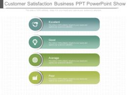 Customer Satisfaction Business Ppt Powerpoint Show