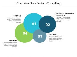 Customer Satisfaction Consulting Ppt Powerpoint Presentation Introduction Cpb