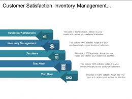 Customer Satisfaction Inventory Management Trading Strategy Event Planning Process Cpb