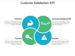 Customer Satisfaction KPI Ppt Powerpoint Presentation Show Layouts Cpb