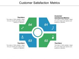 Customer Satisfaction Metrics Ppt Powerpoint Presentation Icon Guide Cpb