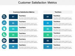 Customer Satisfaction Metrics Ppt Powerpoint Presentation Slides Styles Cpb