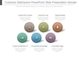 Customer Satisfaction Powerpoint Slide Presentation Sample