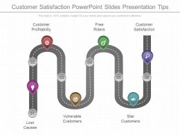Customer Satisfaction Powerpoint Slides Presentation Tips