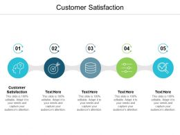 Customer Satisfaction Ppt Powerpoint Presentation Gallery Icon Cpb