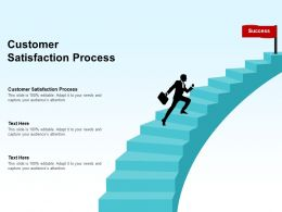 Customer Satisfaction Process Ppt Powerpoint Presentation Show Tips Cpb