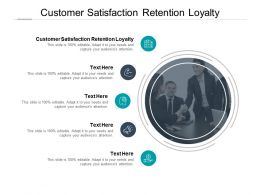 Customer Satisfaction Retention Loyalty Ppt Powerpoint Slides Cpb